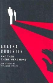 book cover of Kümme väikest neegrit by Agatha Christie
