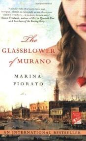 book cover of The Glassblower of Murano by Marina Fiorato