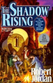 book cover of The Shadow Rising by Robert Jordan