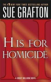 "book cover of ""H"" for hasard by Sue Grafton"