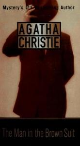 book cover of The Man in the Brown Suit by Agatha Christie