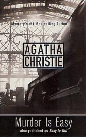 book cover of Murder Is Easy by Agatha Christie