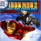 book cover of Iron Man 2: Iron Man Fights Back by Jodi Huelin