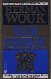 book cover of War and Remembrance by Herman Wouk