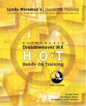 book cover of Dreamweaver MX : H.O.T. : hands-on training by Garo Green