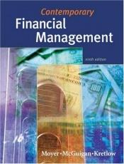 book cover of Contemporary financial management by R. Charles Moyer