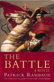 book cover of The Battle by Patrick Rambaud