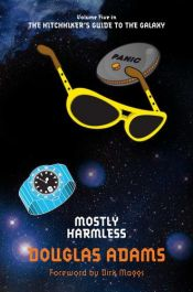 book cover of Mostly Harmless by Douglas Adams
