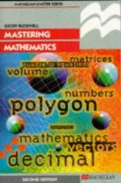 book cover of Mastering Mathematics by G.D. Buckwell