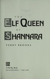 book cover of The Elf Queen of Shannara by Terry Brooks