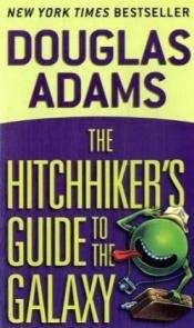 book cover of The Hitchhiker's Guide To The Galaxy by Douglas Adams