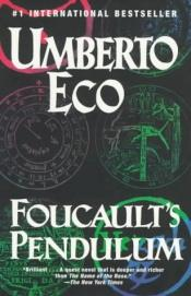 book cover of Foucaultovo kyvadlo by Umberto Eco