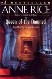 book cover of The Queen of the Damned by Anne Rice
