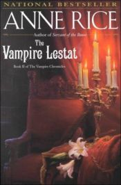 book cover of The Vampire Lestat by Anne Rice