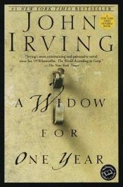 book cover of Jednoroczna wdowa by John Irving