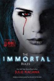 book cover of The Immortal Rules (Blood of Eden) by Julie Kagawa