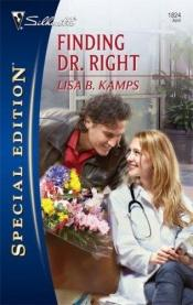 book cover of Finding Dr. Right by Lisa Kamps