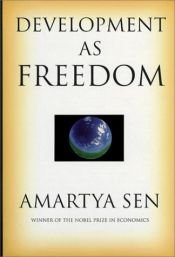 book cover of Development as Freedom by Amartya Sen