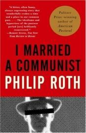 book cover of I Married a Communist by Philip Roth