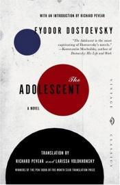 book cover of L'adolescente by Fëdor Dostoevskij