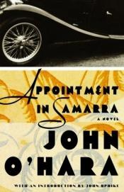 book cover of Appointment in Samarra by John O'Hara