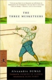 book cover of The Three Musketeers by Aleksander Dumas