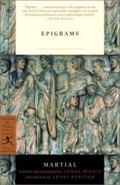 book cover of Epigrams from Martial by 마르티알리스