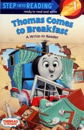 book cover of Thomas Comes to Breakfast by author not known to readgeek yet