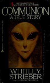 book cover of Communion by Whitley Strieber