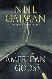 book cover of American Gods by Neil Gaiman