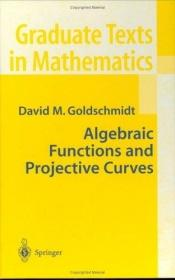 book cover of Algebraic Functions and Projective Curves by David Goldschmidt
