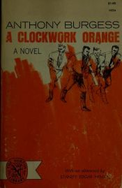 book cover of L'Orange mécanique by Anthony Burgess