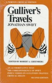 book cover of Gulliver's Travels: An Authoritative Text, the Correspondence of Swift, Pope's Verses on Gulliver's Trave by Jonathan Swift