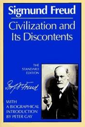 book cover of Civilization and its Discontents by Sigmund Freud