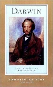 book cover of Darwin (Norton Critical Edition) by Charles Darwin