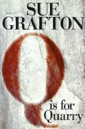 book cover of Q staat voor qui-vive by Sue Grafton