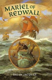 book cover of Redwall Mariel, klockmakarens dotter by Brian Jacques