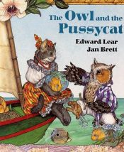 book cover of The Owl and the Pussycat by Edward Lear
