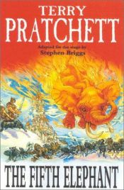 book cover of The Fifth Elephant by Terry Pratchett