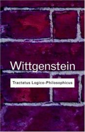 book cover of Tractatus Logico-Philosophicus by Ludwig Wittgenstein