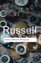 book cover of A History of Western Philosophy by Bertrand Russell