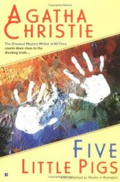 book cover of Five Little Pigs by Agatha Christie