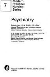 book cover of Psychiatry by Emily A. Lee