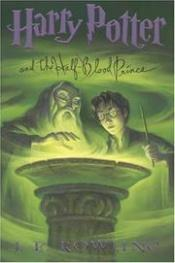 book cover of Harry Potter ja puoliverinen prinssi by J. K. Rowling