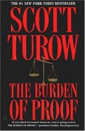 book cover of The Burden of Proof by Scott Turow