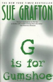 book cover of G niin kuin gangsteri by Sue Grafton