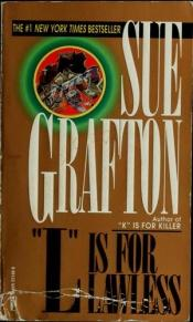 "book cover of ""L"" som i laglös by Sue Grafton"