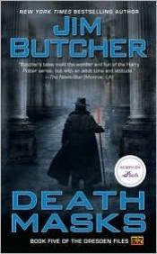 book cover of Death Masks by Jim Butcher