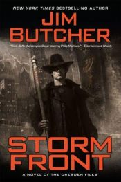 book cover of Storm Front by Jim Butcher
