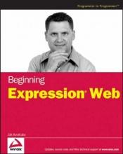 book cover of Beginning Expression Web by Zak Ruvalcaba
